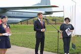Губернатор Приморского края ОлегКожемяко принялучастие в открытии Дальневосточного музея авиации